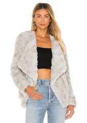 BB Dakota by Steve Madden Come Cozy Faux Fur Jacket