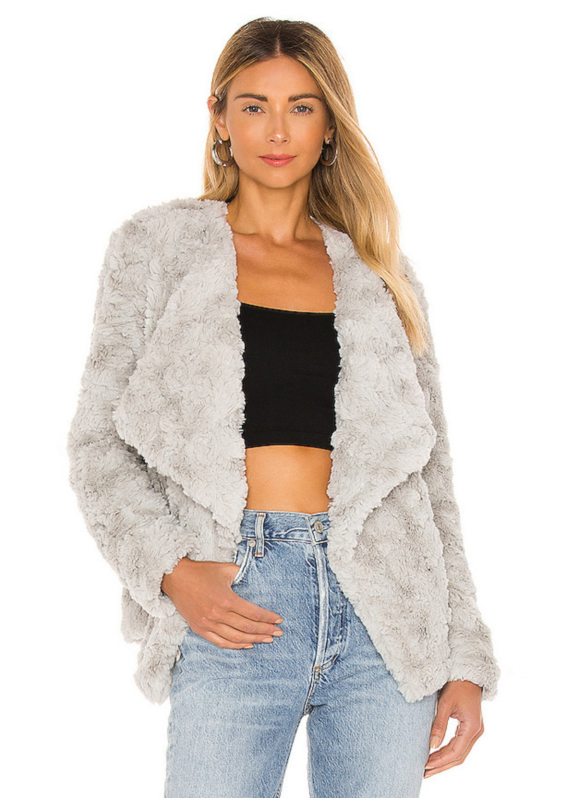 BB Dakota by Steve Madden Come Cozy Faux Fur Jacket