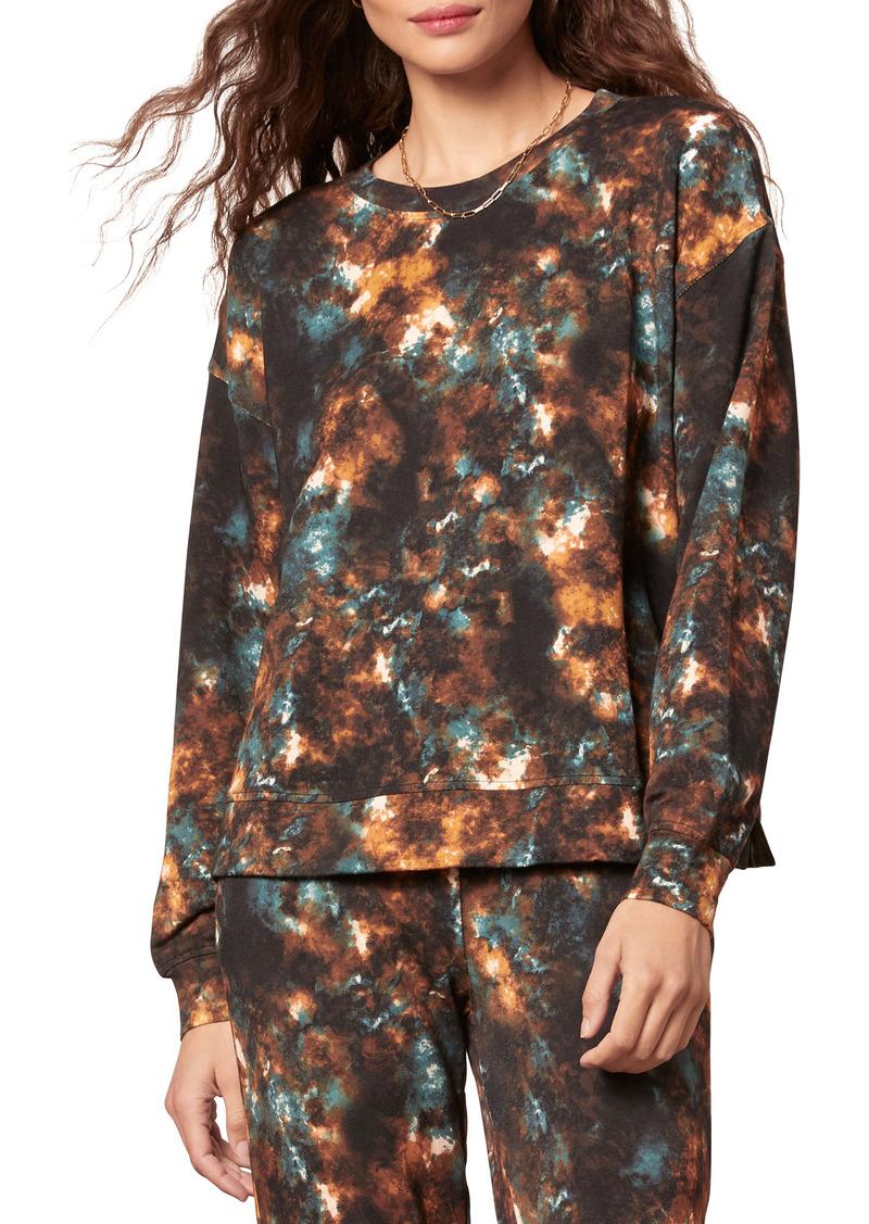 BB Dakota Cosmos Tie Dye Print Sweatshirt