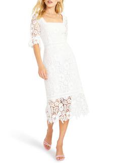 BB Dakota Did It My Way Lace Midi Dress