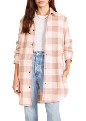 BB Dakota Eldridge Oversize Buffalo Check Shirt Jacket