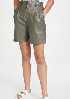 BB Dakota Faux Leather Kokomo Shorts