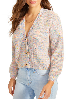 BB Dakota Golden Hour Crop Cardigan