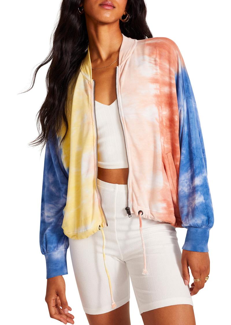 BB Dakota Hang Tight Cotton Fleece Bomber Jacket