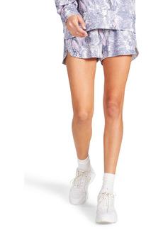 BB Dakota x Steve Madden Hissed Call Snake Print Pull-On Shorts