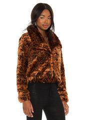 BB Dakota by Steve Madden Leopard Queen Jacket