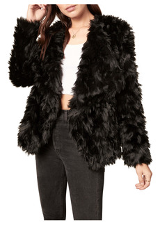 BB Dakota Shag Race Faux Fur Jacket