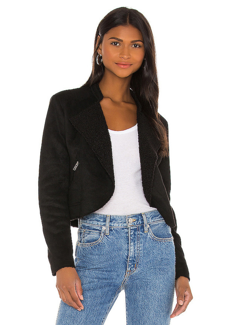 BB Dakota by Steve Madden Suede Me Love You Jacket