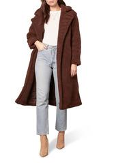 BB Dakota Teddy Faux Fur Longline Coat