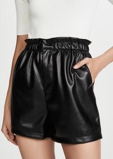 BB Dakota Vegan Leather Shorts
