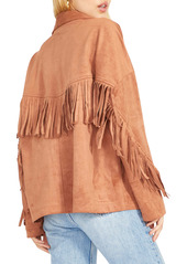 BB Dakota Westworld Fringe Faux Suede Jacket