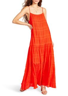 BB Dakota by Steve Madden Tiered Voile Maxi Dress