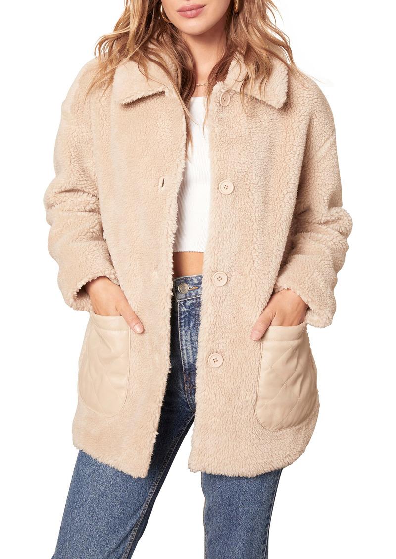BB Dakota Yeti to Wear Faux Fur Teddy Jacket