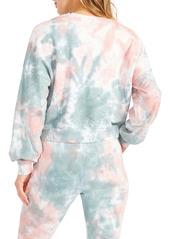 BB Dakota by Steve Madden You're Trippin Tie Dye Sweatshirt
