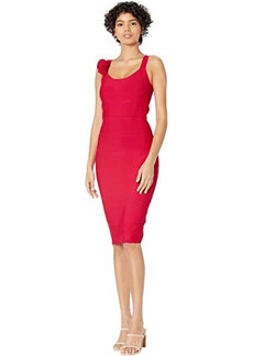 BCBG Max Azria Fitted Knit Cocktail Dress
