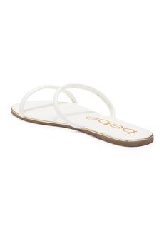 bebe Double Slim Strap Sandal