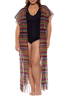 Becca Carnavale Cover-Up Wrap (Plus Size)