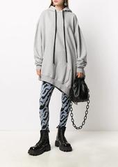 Ben Taverniti Unravel Project asymmetric hoodie