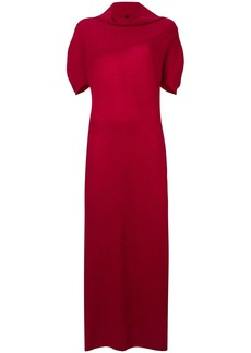 Ben Taverniti Unravel Project cashmere knitted long dress