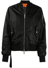 Ben Taverniti Unravel Project classic bomber jacket