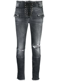 Ben Taverniti Unravel Project distressed skinny jeans