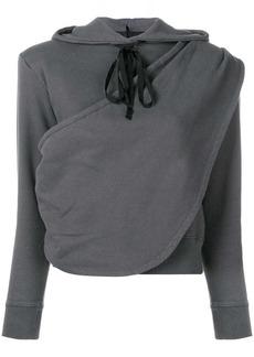 Ben Taverniti Unravel Project draped hoodie
