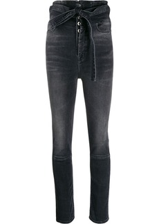 Ben Taverniti Unravel Project high-waist skinny jeans