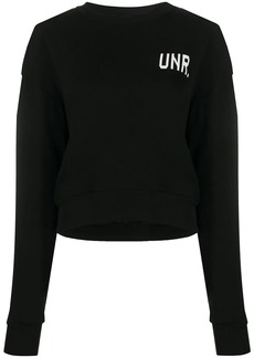 Ben Taverniti Unravel Project logo long-sleeve sweatshirt