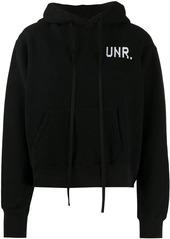 Ben Taverniti Unravel Project logo print hoodie