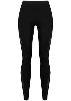 Ben Taverniti Unravel Project mid-rise cut-out leggings