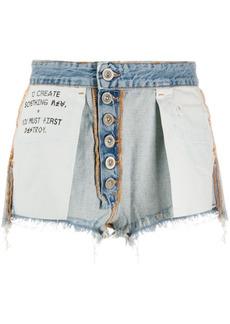 Ben Taverniti Unravel Project Reversed short shorts