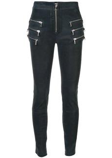 Ben Taverniti Unravel Project skinny textured trousers