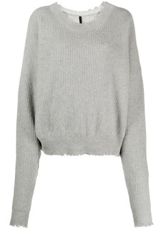 Ben Taverniti Unravel Project slouchy knitted jumper