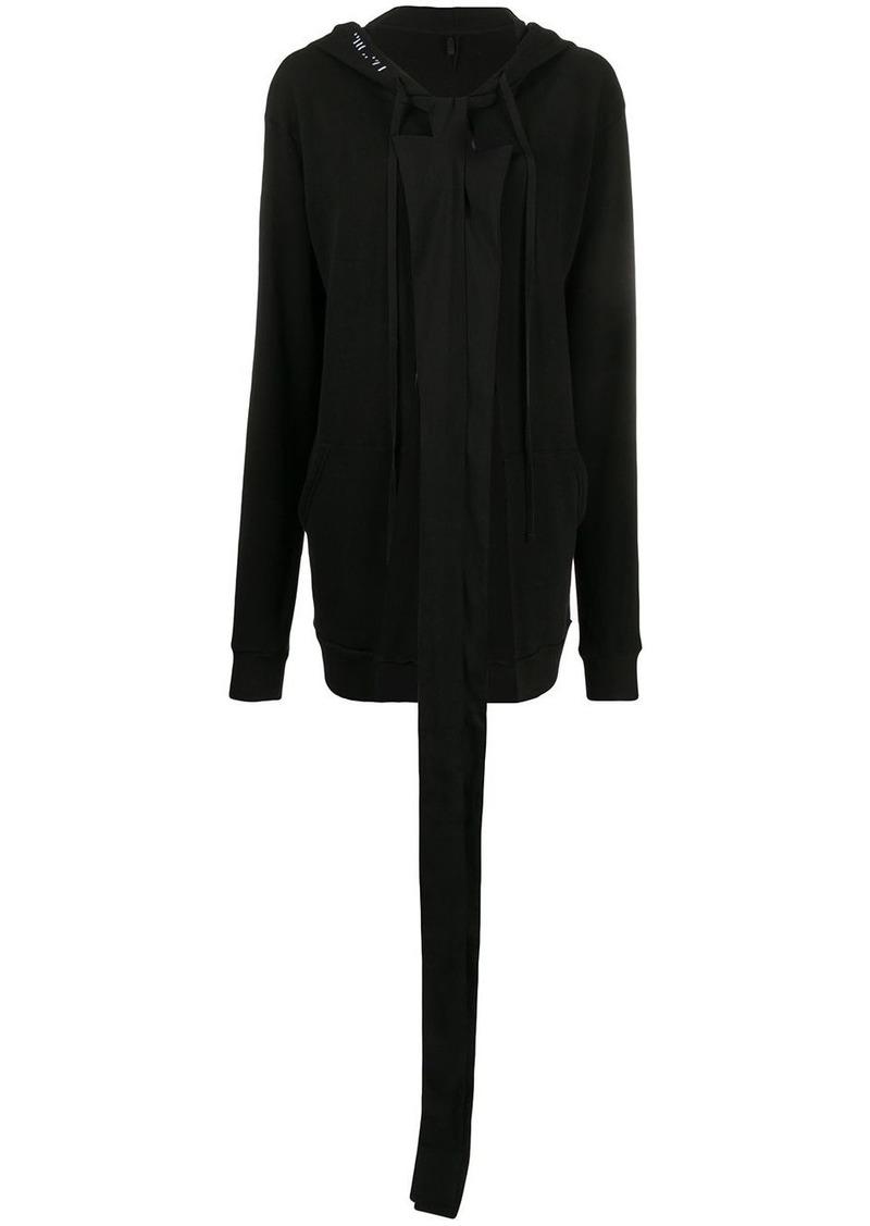 Ben Taverniti Unravel Project Terry open cape hoodie