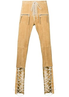 Ben Taverniti Unravel Project tie front trousers