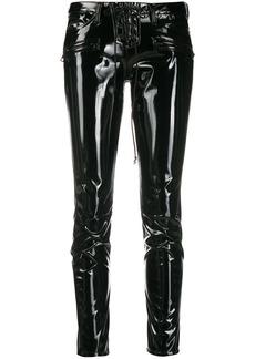 Ben Taverniti Unravel Project two-tone slim-fit trousers