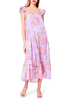 Betsey Johnson Betsey Bouquet Printed Dress