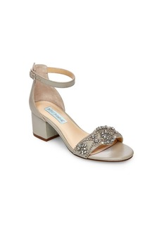 Betsey Johnson Women's Mel Block Heel Sandal Women's Shoes