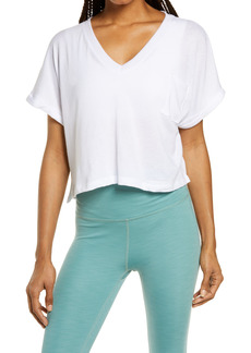 Beyond Yoga Deep-V Pocket T-Shirt