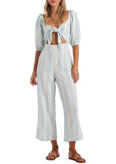 Billabong Dizzy Daze Stripe Jumpsuit