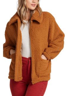Billabong Scenic Route Faux Fur Jacket