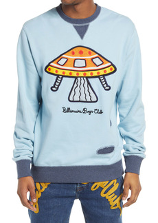 Billionaire Boys Club Men's Embroidered Encounter Crewneck Sweatshirt