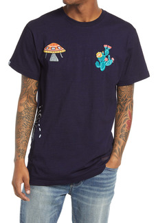 Billionaire Boys Club Men's Embroidered Short Sleeve Tee