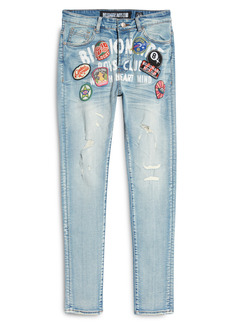 Billionaire Boys Club Men's Lucky Ripped Embellished Jeans (Axis)