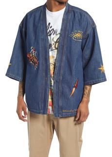Billionaire Boys Club Men's Space Rider Denim Shirt
