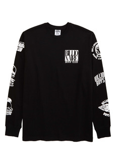 Billionaire Boys Club Tagged Long Sleeve Men's Graphic Tee