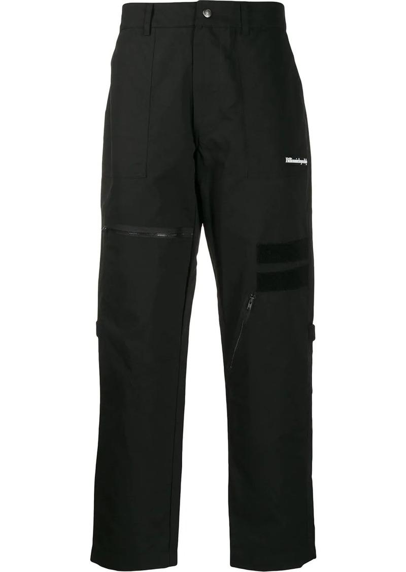 Billionaire Boys Club multi-pocket straight trousers