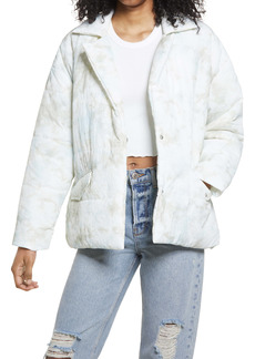 BLANKNYC Quilted Wrap Jacket