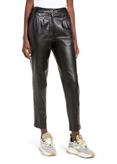 Women's Blanknyc Faux Leather Pleated Trousers