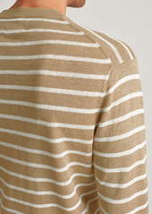 Bonobos Stripe Linen Sweater